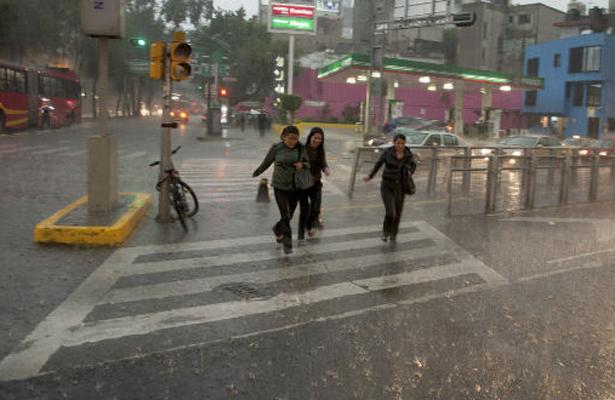 Se esperan lluvias por la mañana y tarde en la CDMX