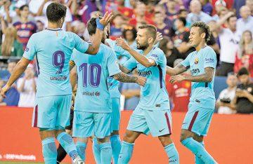 Barcelona derrotó a Manchester United, 1-0