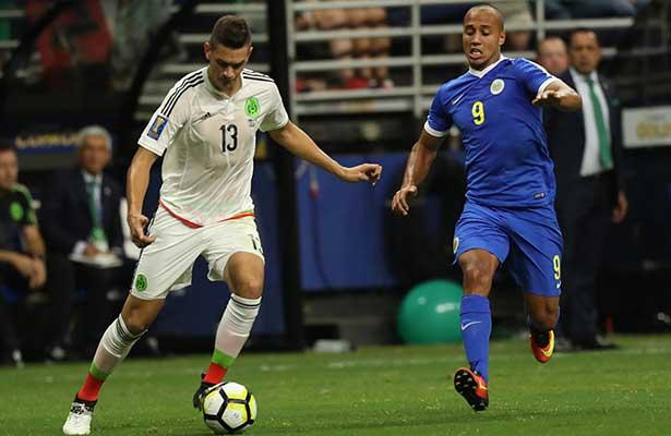 En vergonzoso triunfo México supera 2-0 a Curazo