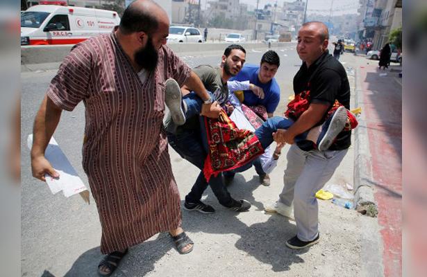 Muere Palestino durante protesta en Mezquita