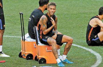 PSG le pone ultimátum a Neymar