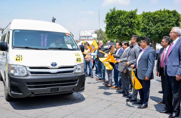 Nezahualcóyotl, instala localizadores GPS a vehículos particulares y transporte público