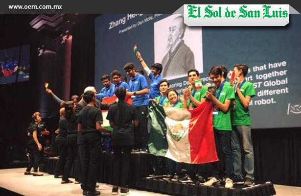 México gana medalla de bronce en el mundial de robótica