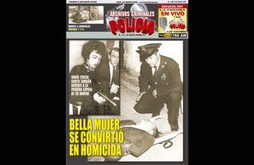 BELLA MUJER SE CONVIRTIÓ EN HOMICIDA, TRAGEDIA INCUBADA EN MENTIRAS Y VIOLENCIA