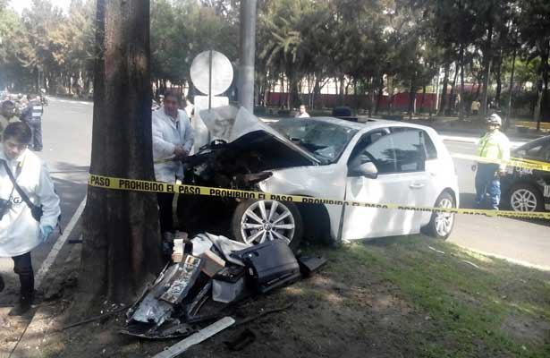 Fatal accidente en la Ramos Millán