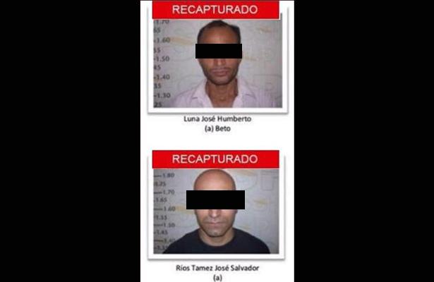 Detienen a 2 fugitivos en Chihuahua, prófugos desde el 22 de marzo