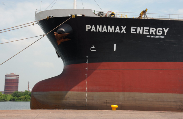 """Semar abandera el buque """"Panamax Energy"""""""