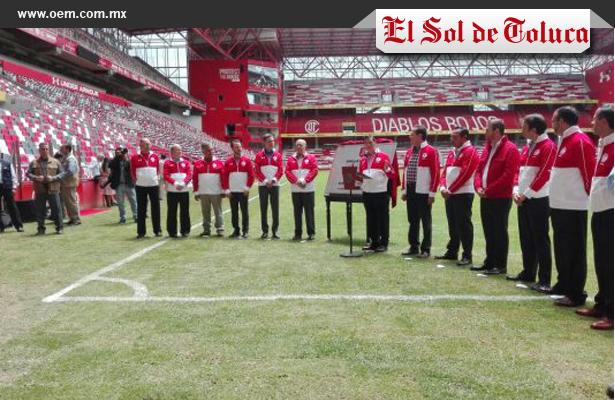 Nuevo estadio del Toluca fue inaugurado por Enrique Peña Nieto