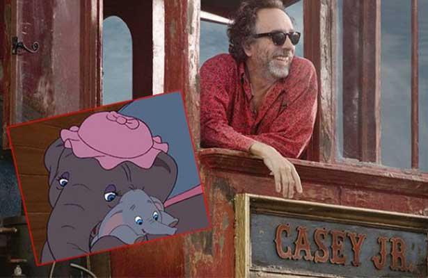 "Tim Burton dirigirá nueva versión de ""Dumbo"""