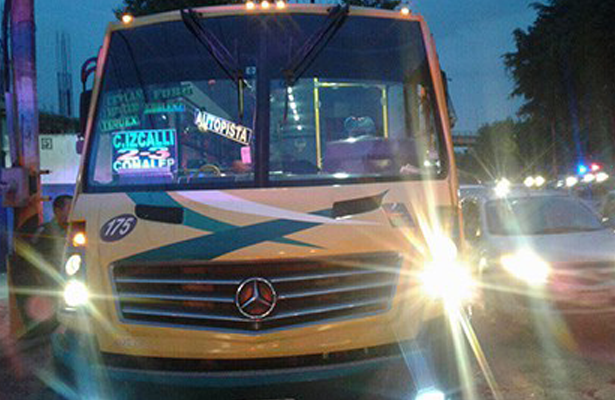 Asesinan a ratero de transporte público en Tlalnepantla