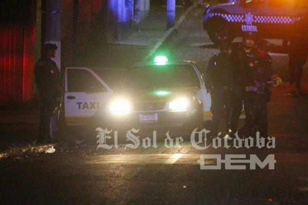 Asesinan de ocho balazos a taxista