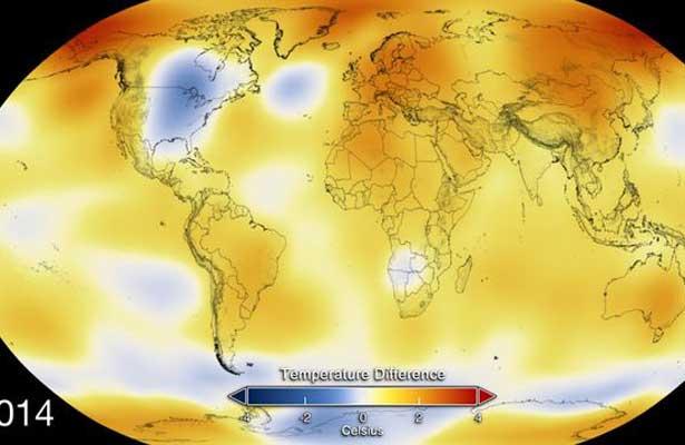 Agencia de EE.UU. confirma que 2016 fue el año más cálido de la Tierra