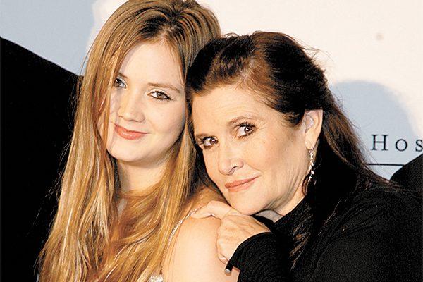 Hija de Carrie Fisher recibirá como herencia cerca de 7 mdd