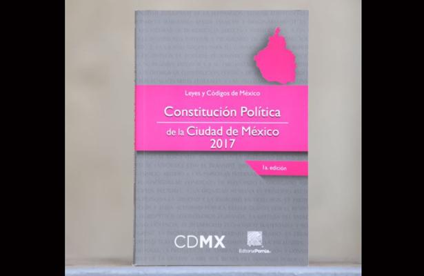 Capacitarán a trabajadores del GCDMX sobre Constitución