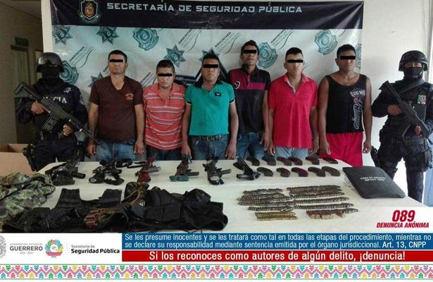 Asegura Policía Estatal armamento de uso exclusivo del ejército