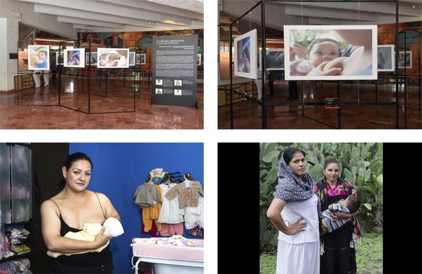 Exposición fotográfica: 'La mujer mexicana y la lactancia materna'