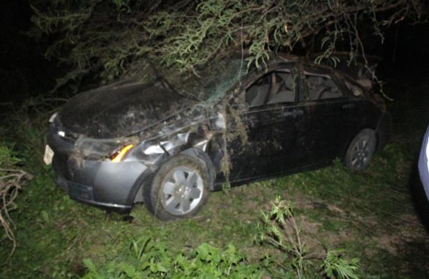 Fatal volcadura provoca un muerto y tres lesionados