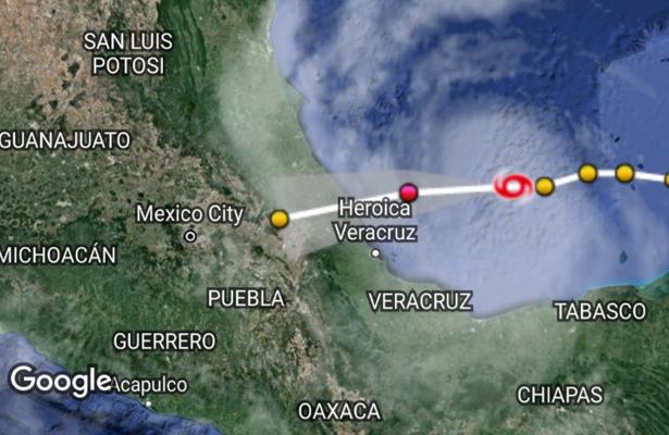Pendiente Protección Civil de la CDMX ante el desarrollo del ciclón franklin