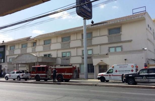 Explosión en Hotel en Reynosa