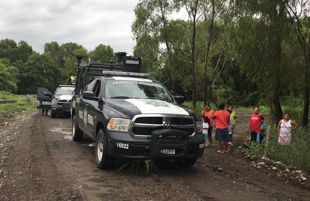 PF realiza acciones de apoyo a los afectados por 'Franklin', en Veracruz