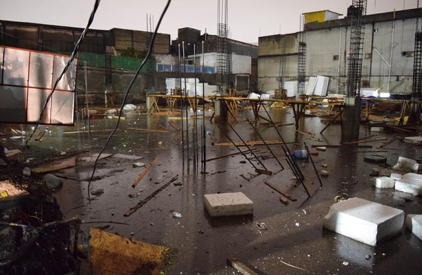 AICM suspende operaciones por lluvia intensa en la CDMX