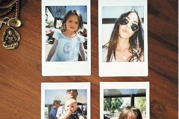 Megan Fox presume a sus hijos