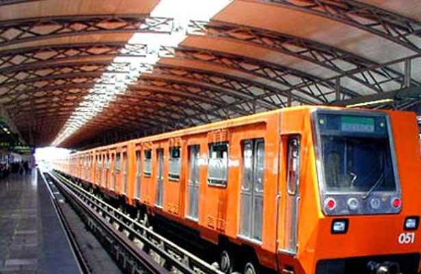 Reduce el Metro velocidad de sus trenes por las lluvias