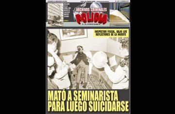 MATÓ A SEMINARISTAS PARA LUEGO SUICIDARSE