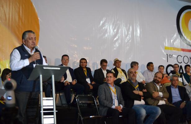 Gobernadores del PRD, a favor del Frente Amplio Democrático