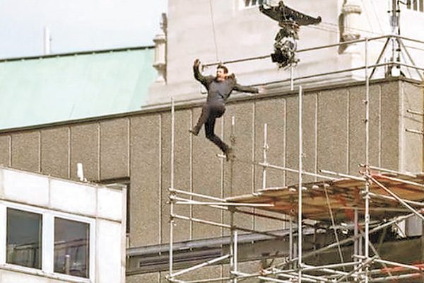 "Tom Cruise se accidenta durante las grabaciones de ""Misión Imposible 6"""