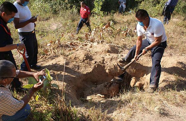 Localizan fosa con 14 cadáveres en Valparaíso