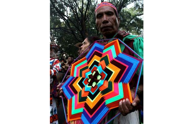 Con festival indígena intentarán defender tradiciones de wixárika