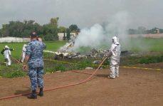 Se estrellan aeronaves en Tecamac, pilotos salen ilesos