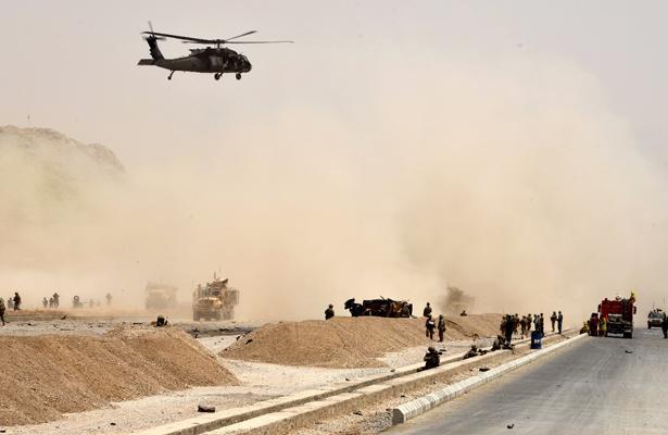Ataques en Afganistán producen decenas de muertos y heridos
