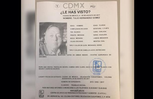 Reportan desaparecido al exgobernador de Tlaxcala, Tulio Hernández