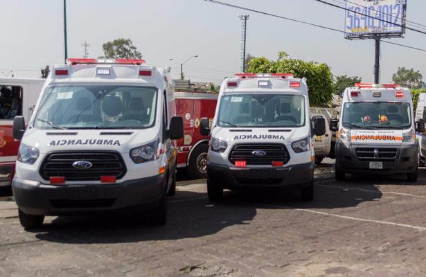 Entregan nuevo equipo de emergencia en Neza