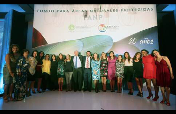 Festejan 20° aniversario del Fondo para Áreas Naturales Protegidas