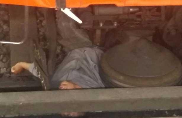 Perece arrollado por el convoy en Metro Aeropuerto