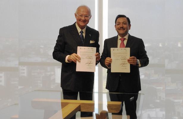Firman convenio SEMOVI y Escuela Libre de Derecho