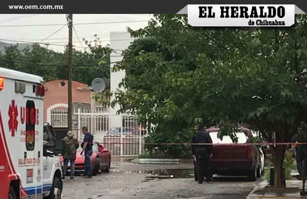 Asesinan a hombre dentro de su auto en Chihuahua