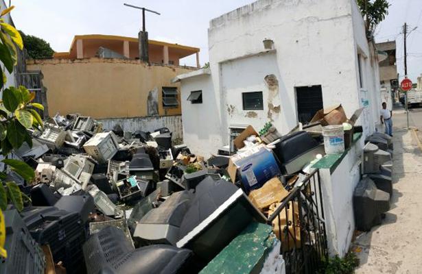 Nueva Alianza fomenta el reciclaje electrónico
