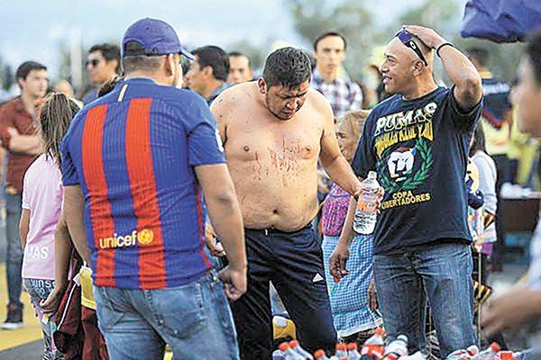 Apareció la violencia en el Azteca