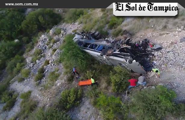 Trágico accidente dejo al menos 10 muertos y 15 heridos, en Tamaulipas