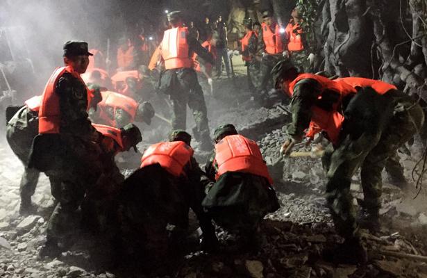 Terremotos en China han provocado 18 muertos y 280 heridos