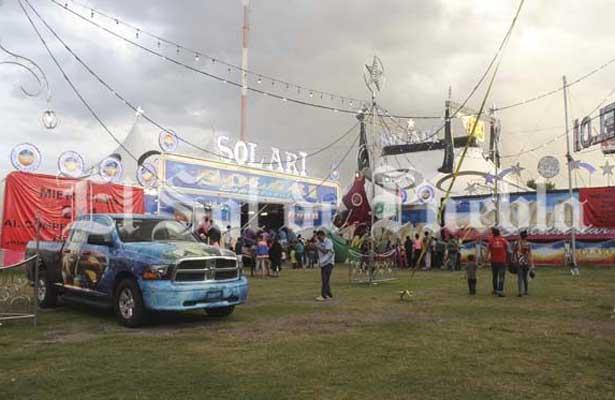 Hallan en circo de Puebla a niña desaparecida en Guanajuato