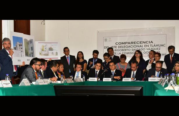 Diputados de la ALDF aseguraron que el jefe delegacional en Tláhuac debe renunciar a su cargo