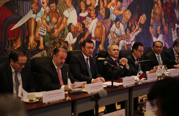 Dispuesto el gobierno a revisar nuevo sistema penal acusatorio: Osorio Chong