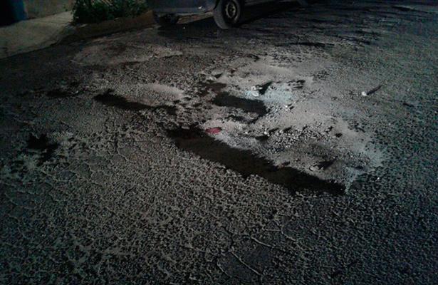 Cráteres en colonias de Ecatepec