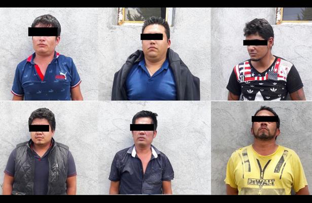 PF detiene a seis que atacaron a disparos a elemento de la Policía Federal