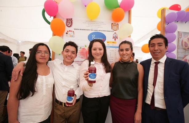Estudiantes del IPN crean bebida rehidratante para diabéticos